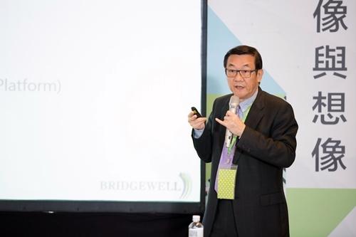 Bridgewell宇匯知識科技執行長周培林。